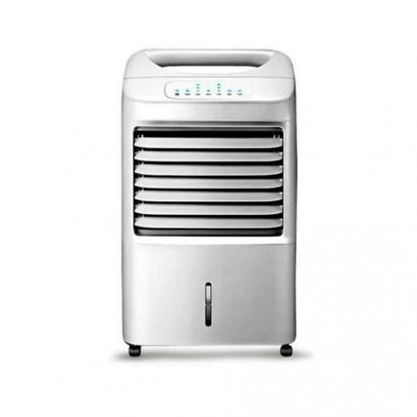 空调扇冰晶为什么不冰