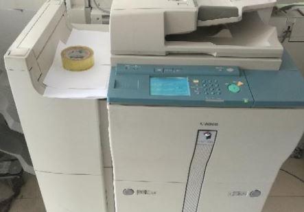 佳能复印机废粉盒在哪